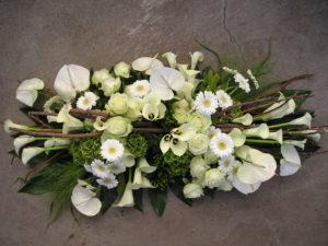 witte anthurium gerbera rozen
